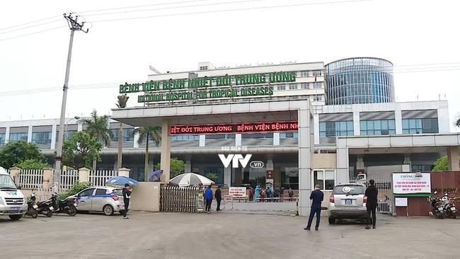 Bệnh nhân được cách ly, điều trị tại Bệnh viện Bệnh nhiệt đới Trung ương cơ sở Đông Anh