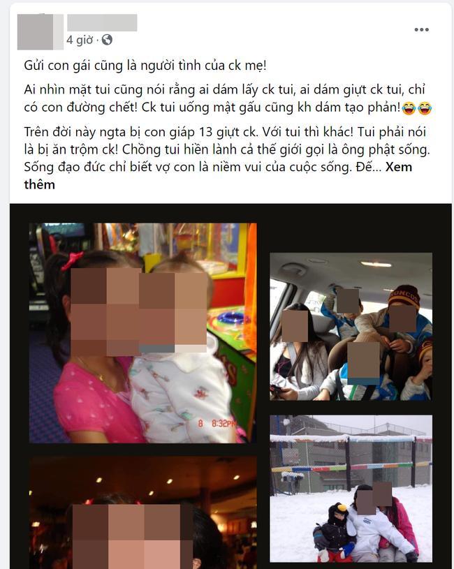 Dòng trạng thái của chị N.H trên Facebook cá nhân thu hút đông đảo sự quan tâm của mọi người. (Ảnh chụp màn hình)