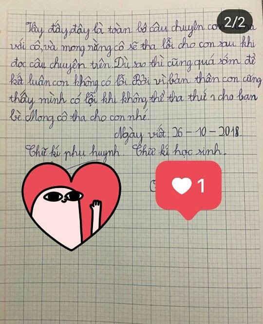 Bản kiểm điểm 'đầy ai oán' và siêu đáng yêu của học sinh lớp 4 gây sốt cộng đồng