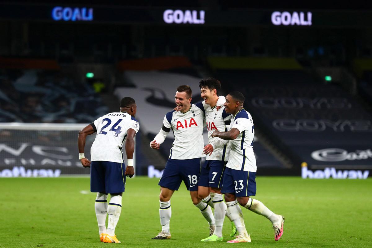 Tottenhamđang có phong độ ấn tượng ở Premier League