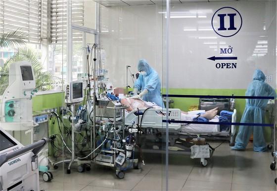 Bệnh nhân 91 đang điều trị ở Bệnh viện Chợ Rẫy.