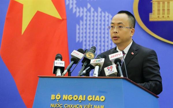 Phó Phát ngôn viên Bộ Ngoại giao Đoàn Khắc Việt.