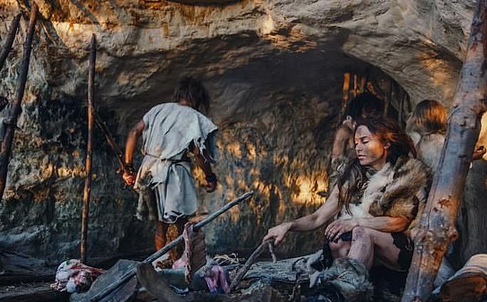Người Neanderthanls - ảnh đồ họa từ Gorodenkoff