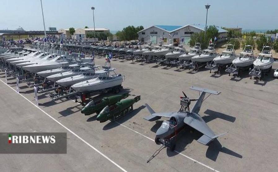 Ngoài các tàu, Hải quân Iran còn được nhận thủy phi cơ cỡ nhỏ. RIBNEWS