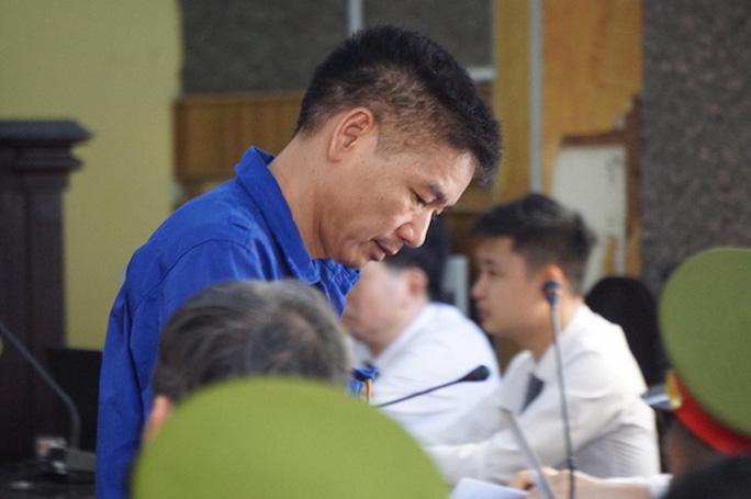Bị cáo Trần Xuân Yến tại phiên toà - Ảnh: Người Lao Động