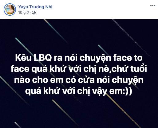 Yaya Trương Nhi đanh thép đáp trả Ngân 98 khi bị tố ngoại tình nhiều lần thuở còn hẹn hò Lương Bằng Quang.