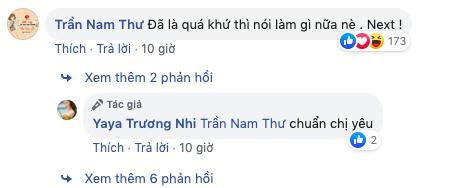 Nam Thư động viên Yaya Trương Nhi không nên để tâm chuyện quá khứ.