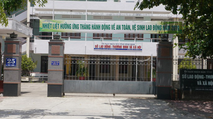Sở LĐ-TB-XH tỉnh Bình Định nơi bị can Ân từng công tác