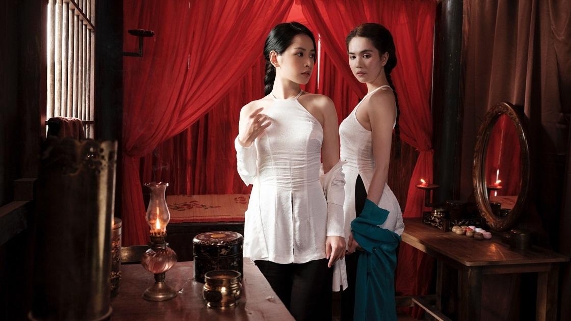 Chi Pu và Ngọc Trinh lần đầu kết hợp trong MV Cung đàn vỡ đôi.