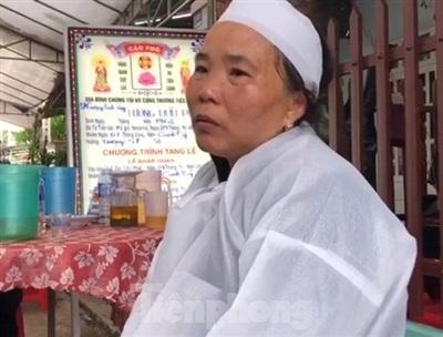 Bà Lê Thị Tư vợ ông Lương Hữu Phước. Ảnh: TP