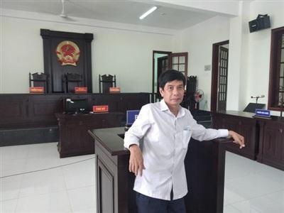 Ông Lương Hữu Phước tại phiên tòa trước đó