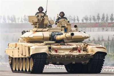 Xe tăng T-90M 'Bhishma' của Ấn Độ. Ảnh: Reddit.