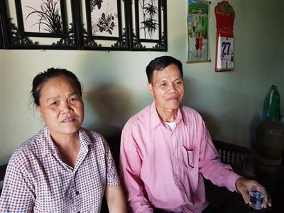 Vợ chồng ông Trịnh Văn Hùng.