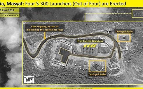 Tên lửa S-300 đã sẵn sàng chiến đấu ở Syria nhưng chưa từng khai hỏa.