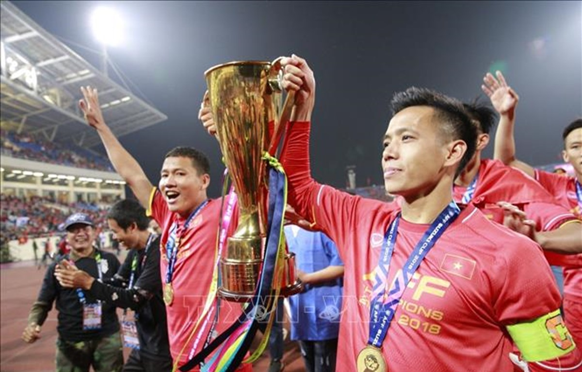 AFF Cup 2020 có nhiều thay đổi so với mùa giải năm ngoái. (Ảnh: TTXVN)