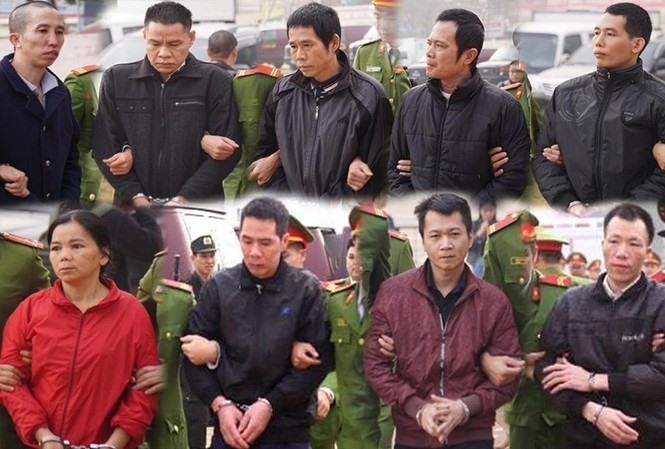 Các bị cáo vụ nữ sinh giao gà ở Điện Biên