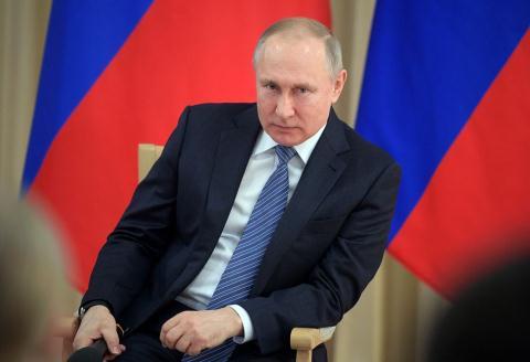 Tổng thống Nga Vladimir Putin. Ảnh: Bloomberg