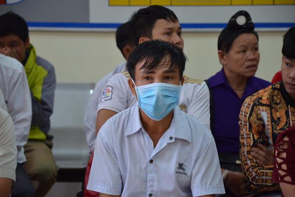 ÔngCao Văn Hường có mặt tại tòa