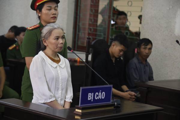 Bị cáo Bùi Thị Kim Thu