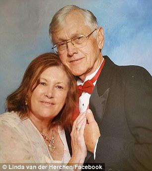 Ông Bob van der Herchen và vợ là bà Linda.