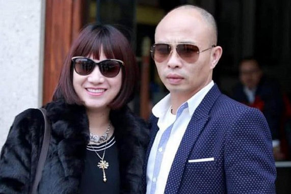 Bà Nguyễn Thị Dương cùng chồng. Ảnh: Vietnamnet