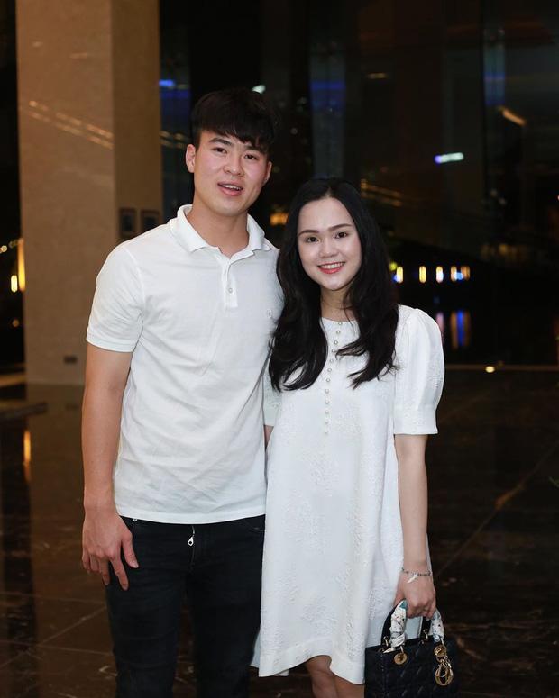 Quỳnh Anh đang mang thai được 5 tháng, cô tăng cân khá nhiều.