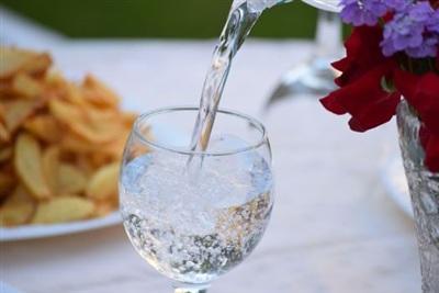 Người phụ nữ đã kiêng không uống nước lọc suốt 1 năm. Ảnh: OD