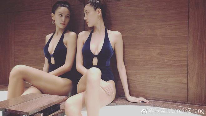 Trương Lam Tâm sinh năm 1986 tại Bắc Kinh. Sau khi tốt nghiệp Đại học Thể thao Bắc Kinh, cô đã hoạt động trong đội Taekwondo Quốc gia Trung Quốc trước khi gia nhập làng giải trí.