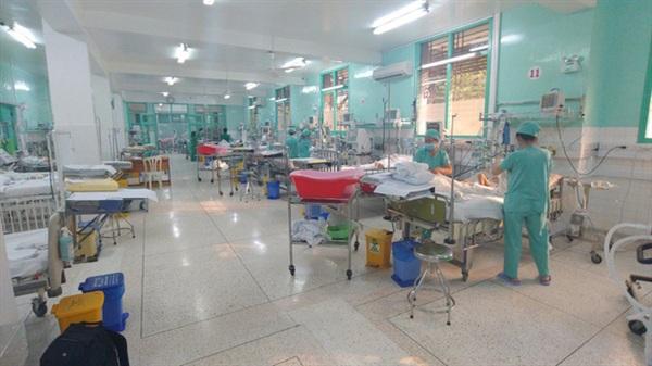 Khoa ICU, nơi bé A. đang nằm hồi sức. (Ảnh: Hoàng Lê)