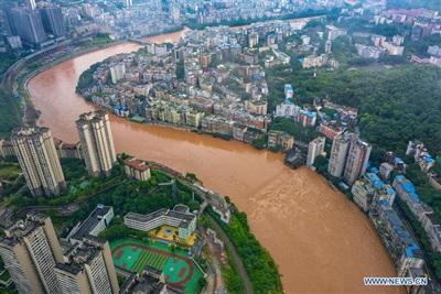 Huyện Kỳ Giang, thành phố Trùng Khánh, Trung Quốc, ảnh chụp vào ngày 01/07. Ảnh: Tân Hoa Xã