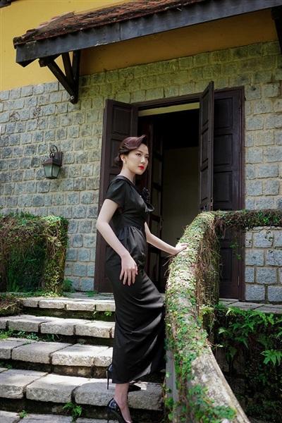 Diễn viên Lương Thanh từng hóa thân thành 'nàng thơ' trong mẫu thiết kế của BTV Diệp Anh gây chú ý trong thời gian vừa qua.