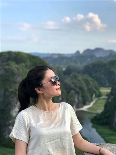 Trên trang cá nhân của mình, BTV Diệp Anh thường xuyên chia sẻ những hành trình du lịch của chị.
