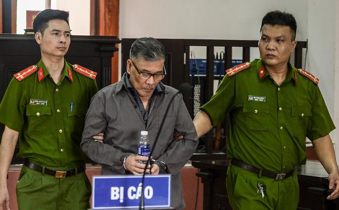 Bùi Xuân Hồng tại phiên toà ngày 8/7.