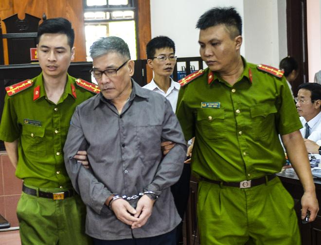 Bị cáo Hồng trong phiên xử ngày hôm qua. Ảnh: Tổ Quốc.