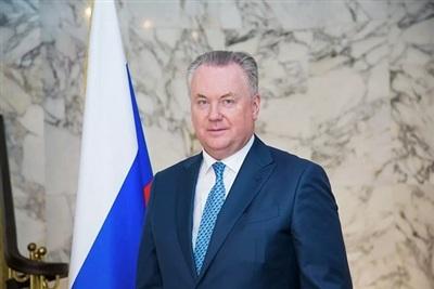 Đại diện thường trực Nga tại Tổ chức An ninh và Hợp tác châu Âu (OSCE) Aleksandr Lukashevich. (Ảnh: RIA)