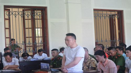 Bị cáo Võ Văn Quý – nguyên là cán bộ công an.