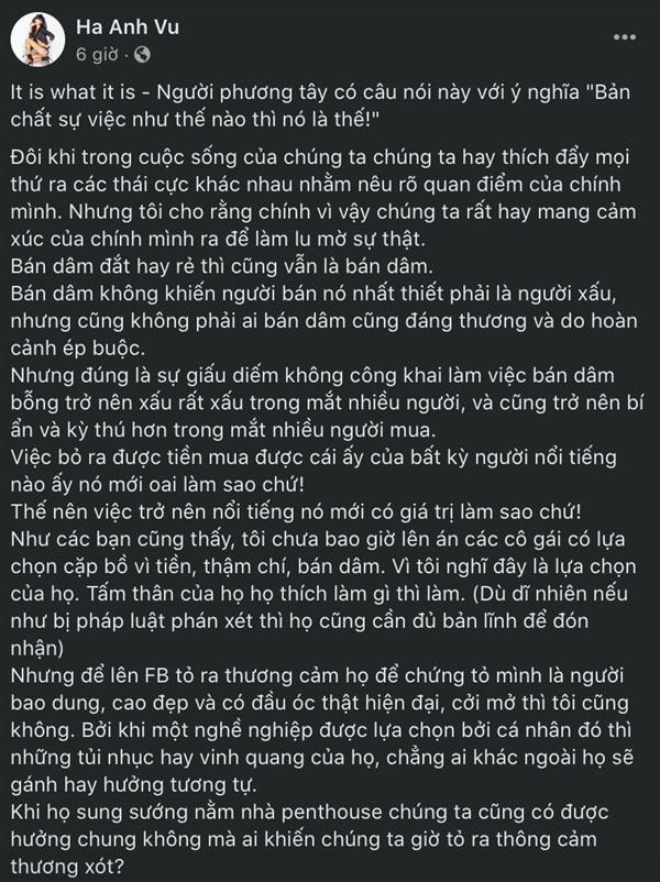 Toàn bộ bài đăng của siêu mẫu Hà Anh.