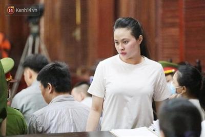 Ngọc Miu mong HĐXX xem xét mức án để sớm được trở về chăm sóc con nhỏ.