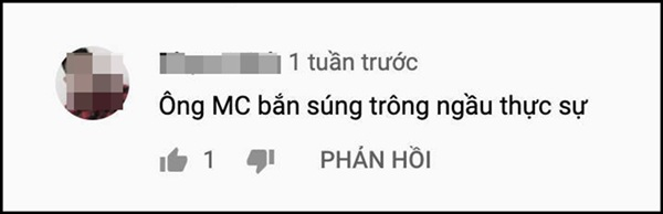 Những lời khen củakhán giảdành cho MC 'Xạ thủ đua tài'