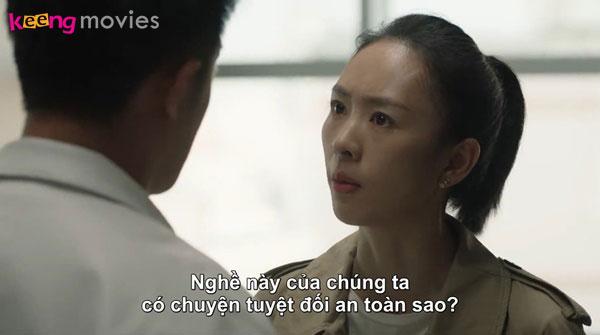 Cuối tập phim, Lâm Hữu Hữu dù đã bị đuổi nhưng vẫn trở lại mang trên mình hình xăm thể hiện tình cảm mãnh liệt dành cho chồng của Cố Giai.