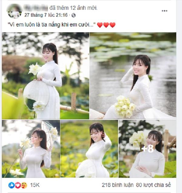 Facebook Âu Hà My chỉ còn lại những hình ảnh của…1 tháng trước.