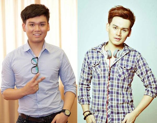 Nguyễn Trần Trung Quân trước và sau giảm cân.