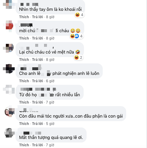 Một số bình luận của cộng đồng mạng.
