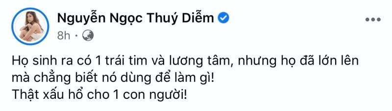 Quan điểm của Nathan Lee và Thúy Diễm nhận được sự đồng tình từ cộng đồng mạng.