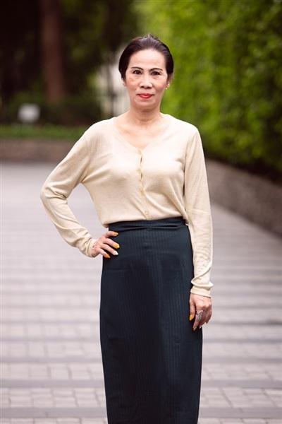 Thí sinh Trần Bích Nga tại vòng sơ khảo cuộc thi Hoa hậu Việt Nam 2020 khu vực phía Nam.