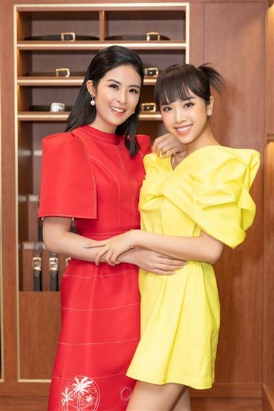 Hoa hậu Ngọc Hân và Á hậu Việt Nam 2018 Thúy An.