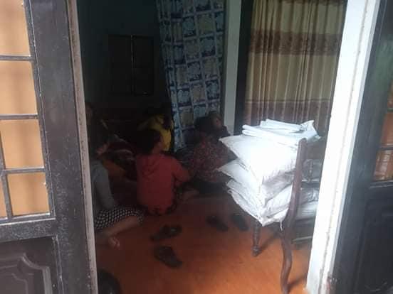 Gia đình rất đau khổ trước sự ra đi của bé Ngọc Minh