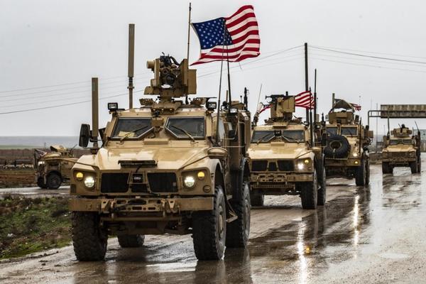 Quân đội Mỹ ở Syria. (Ảnh: AP)
