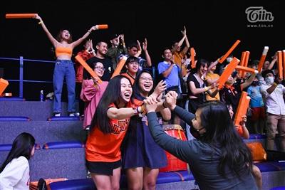 Fans Danang Dragons nín thở rồi vỡ òa trong khoảnh khắc 'phần thắng đã nằm trong tay' 10