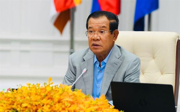 Thủ tướng Campuchia Hun Sen (Ảnh: Fresh News Asia)